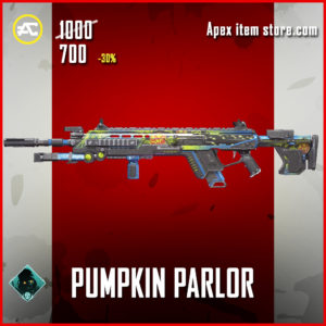 Pumpkin Parlor Longbow Apex Legends Skin