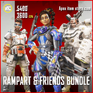 Rampart & Friends Bundle apex legends item pack