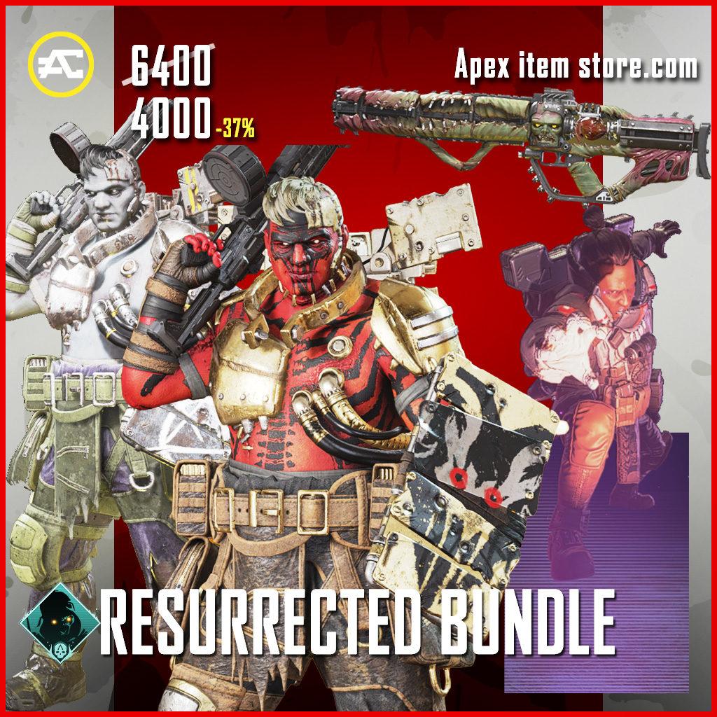 Resurrected bundle apex legends skin pack Fight or Fright 2020