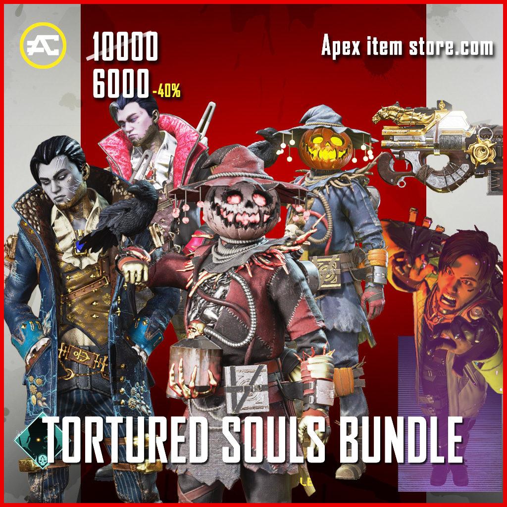 Tortured Souls bundle apex legends skin pack Fight or Fright 2020