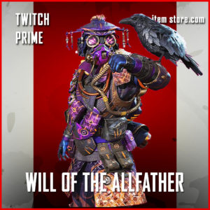 Will of the Allfather bloodhound Twitch Prime Gaming apex legends skin