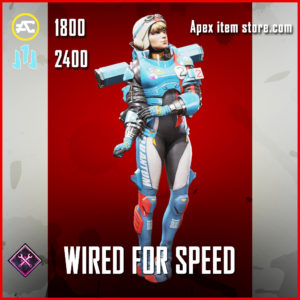 Wired for Speed Wattson skin legendary Apex Legends Item