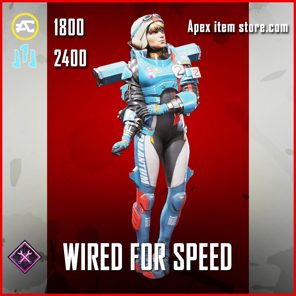 Wired for Speed Wattson skin legendary Apex Legends Item