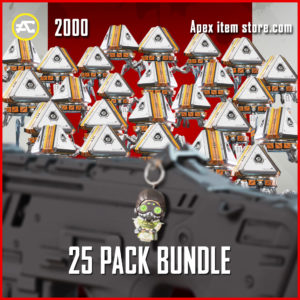 25 Pack Bundle Black Friday Octane Bobblehead