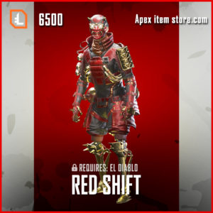 Red Shift legendary octane skin apex legends