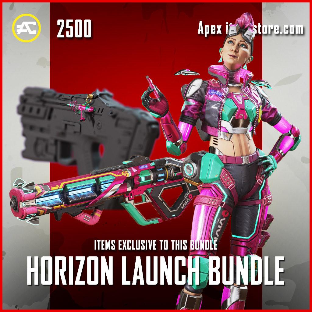 Horizon Launch Bundle apex legends item pack