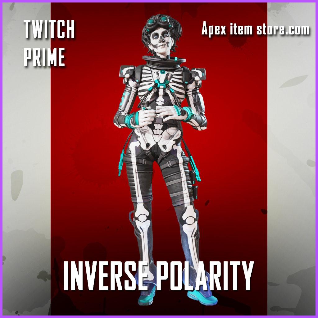 Inverse Polarity Rare Horizon Skin Twitch Prime Gaming Apex Legends Shop Exlusive