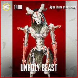 Unholy Beast Revenant Apex Legends Skin