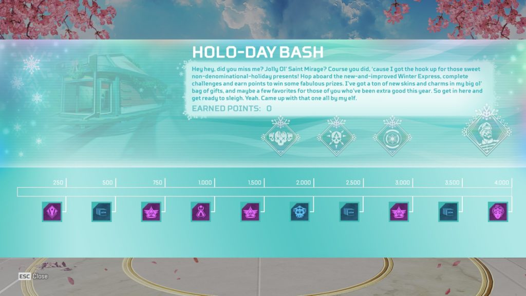 holo-day bash event leak tracker