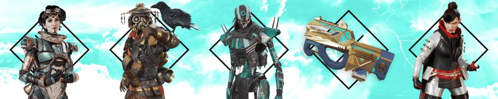 season 7 battle pass legendary items apex legends