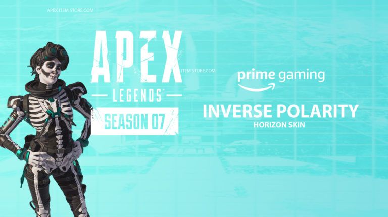 """Claim Exclusive Horzion Skin """"Inverse Polarity"""" Now With Twitch Prime"""