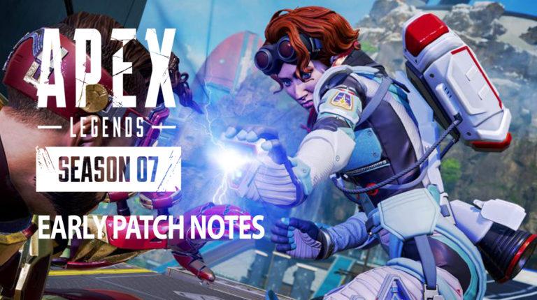 Ascension Patch Notes: Apex Legends Season 7