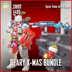 Brudda Bear Beary X-Mas Bundle Holo-Day SHop Apex Gibraltar Flurry G-7