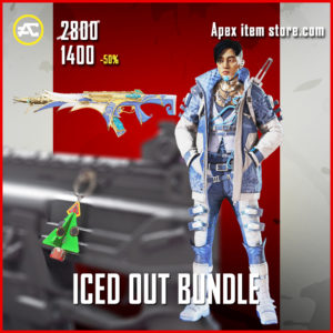 Iced Out Bundle Crypto Cool Operator Ice Cold rare skin R-301 Holo-Day Shop