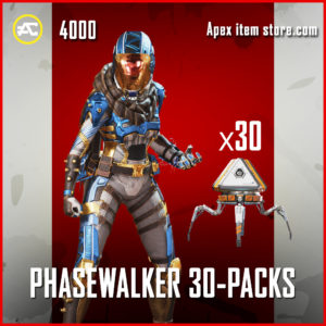 Phasewalker 30 Pack Bundle Apex Legends Wraith Skin