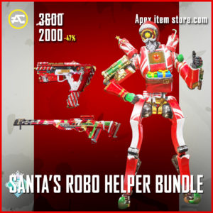Santa's Robo Helper Bundle Apex Legends Holoday Bundle