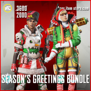 Season's Greetings Bundle Apex Legends Holoday Bundle