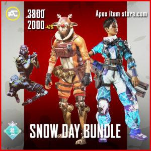 Snow Day Bundle Apex Legends Holoday Bundle