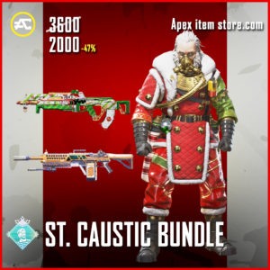 St Caustic Bundle Apex Legends Holoday Bundle