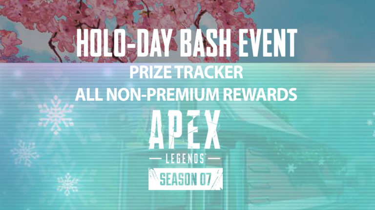 Holo-Day Bash Event: Non-Premium Rewards
