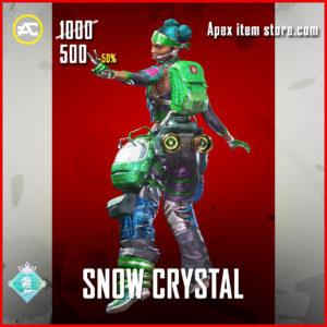 Snow Crystal Lifeline Skin Apex Legends Holoday