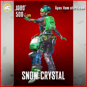 Snow Crystal Lifeline Skin Apex Legends