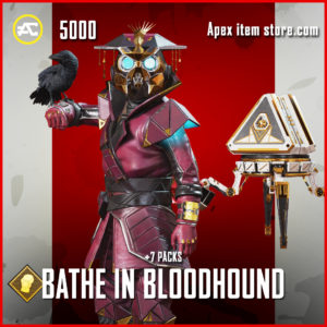 Bathe in Bloodhound Apex Legends Event Pack