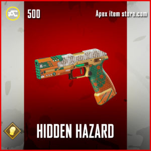 Hidden Hazard P2020 skin in Apex Legends