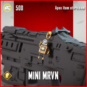 Mini MRVN charm Apex Legends