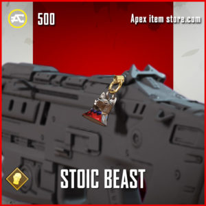 stoic beast charm fight night apex legends