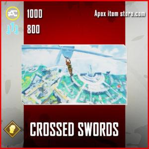 crossed swords skydive emote epic fight night apex legends item