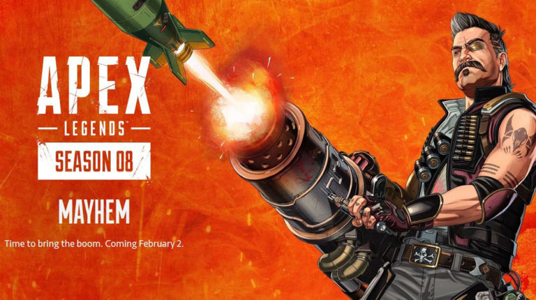 Mayhem Season 8 Apex Legends Coming Feb 2