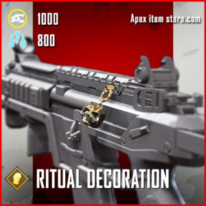 ritual decoration epic fight night charm Apex Legends