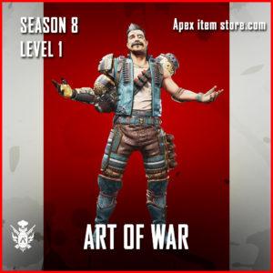 Art of War Fuse Battle Pass Season 8 Skin Apex Legends