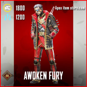 Awoken Fury Crypto Apex Legends Skin Anniversary Event
