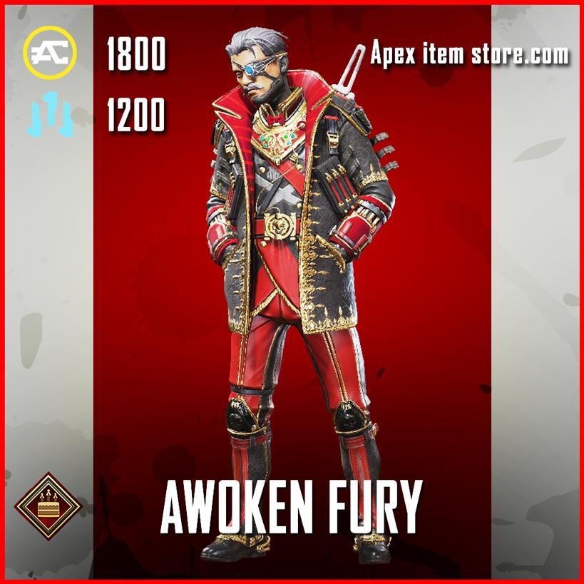 Awoken Fury Crypto Apex Legends Skin Anniversary Event