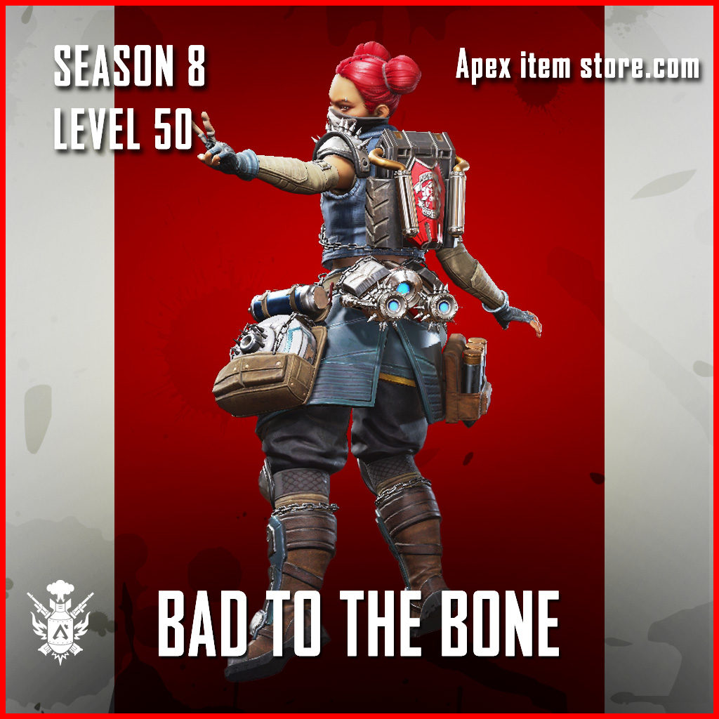 Bad to the Bone Lifeline Battle Pass Season 8 Skin Apex Legends