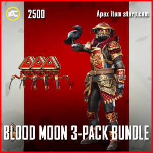 Blood Moon 3-Pack Apex Legends Bundle Anniversary Event