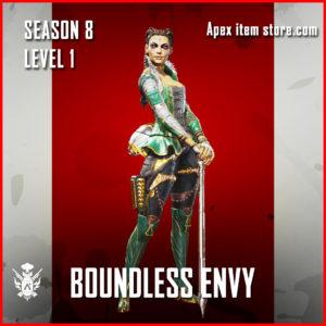 Boundless Envy Loba Battle Pass Season 8 Skin Apex Legends