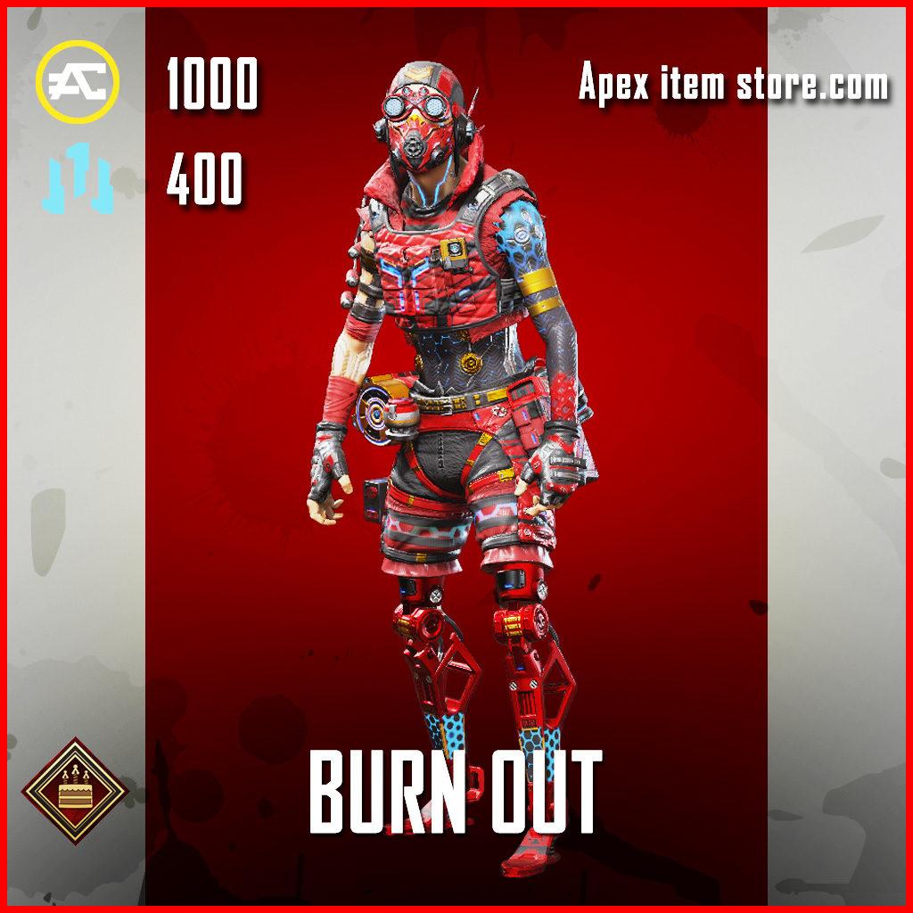 Burn Out Octane Apex Legends Skin Anniversary Event