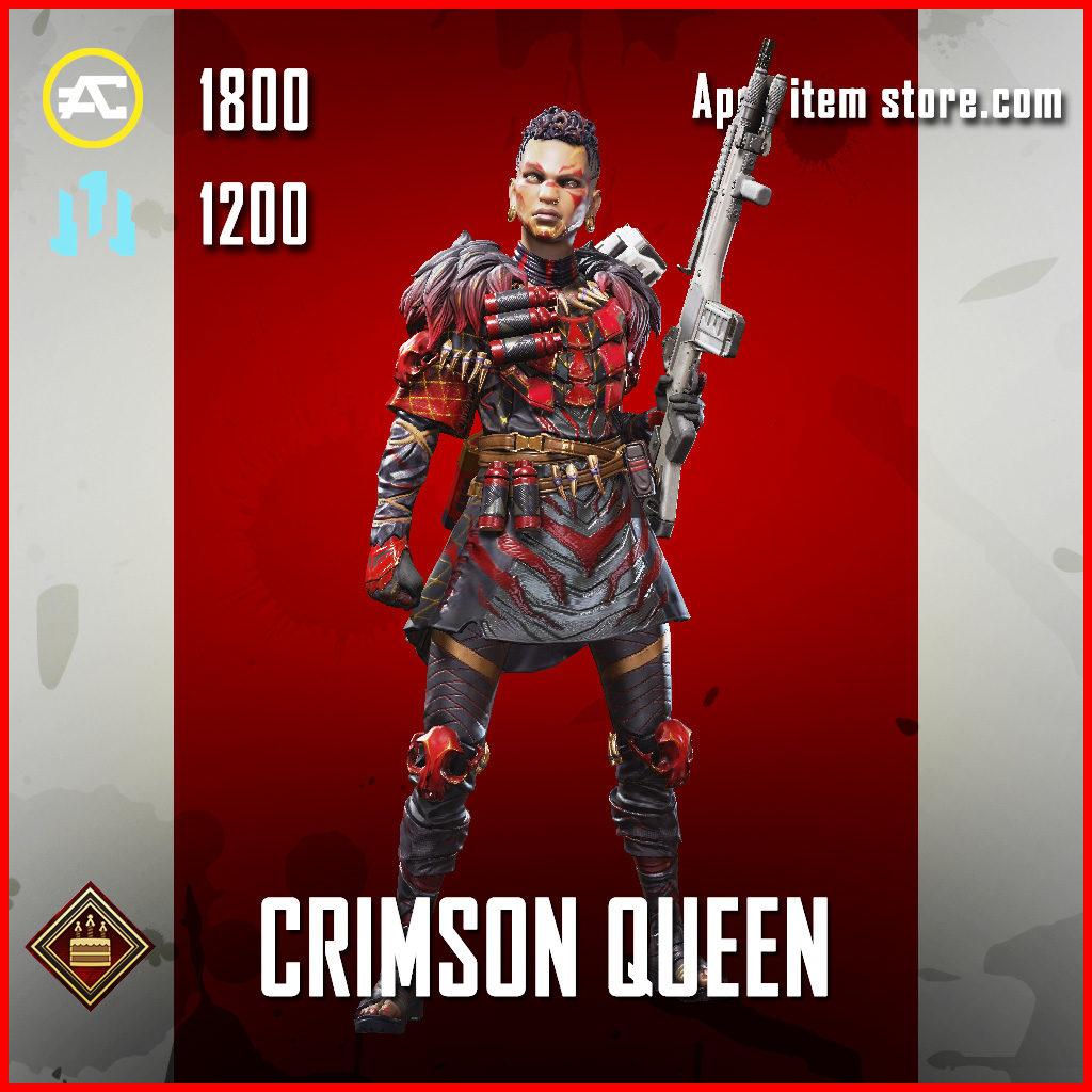Crimson Queen Bangalore Apex Legends Skin Anniversary Event