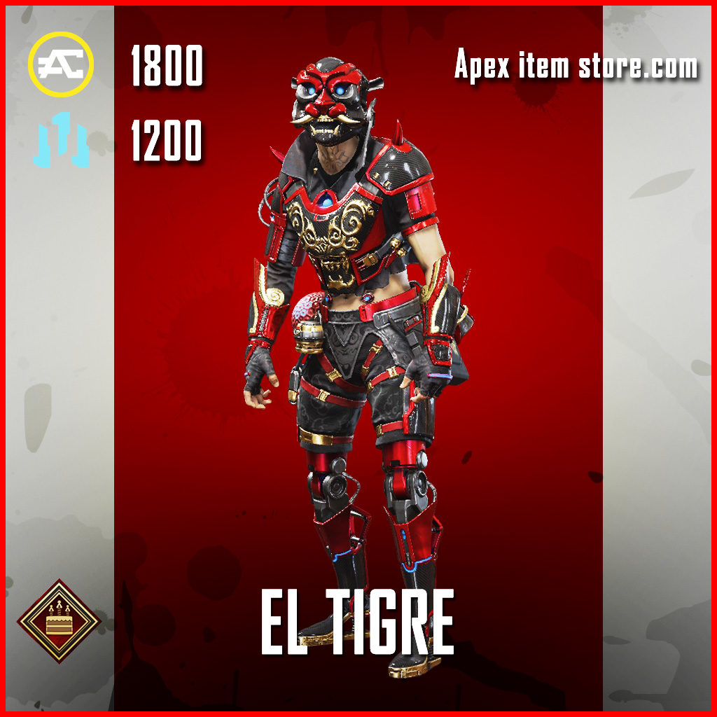 El Tigre Octane Apex Legends Skin Anniversary Event
