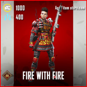 Fire with Fire Bangalore Apex Legends Skin Anniversary Event