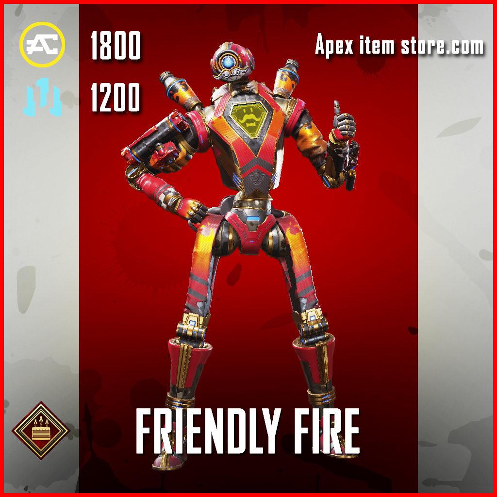 Friendly Fire Pathfinder Apex Legends Skin Anniversary Event