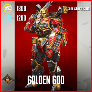 Golden God Gibraltar Apex Legends Skin Anniversary Event