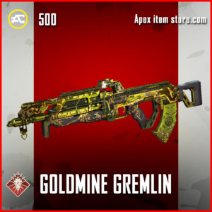 Goldmine Gremlin Flatline Apex Legends Skin