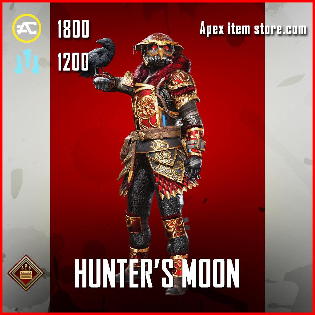 Hunter's Moon Bloodhound Apex Legends Skin Anniversary Event