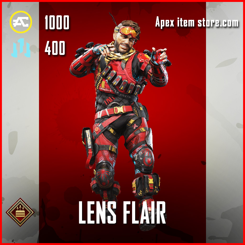 Lens Flair Mirage Apex Legends Skin Anniversary Event