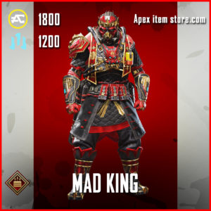 Mad King Caustic Apex Legends Skin Anniversary Event