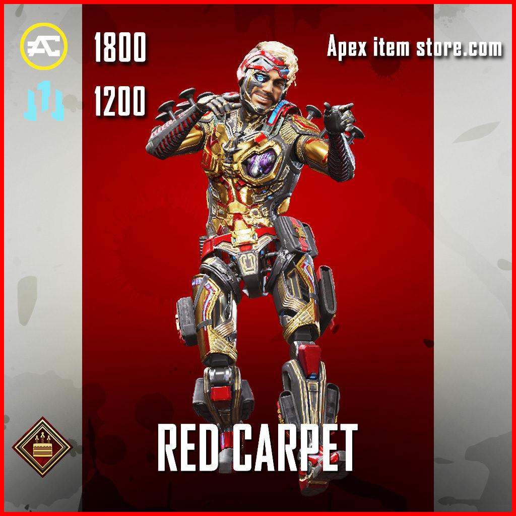 Red Carpet Mirage Apex Legends Skin Anniversary Event